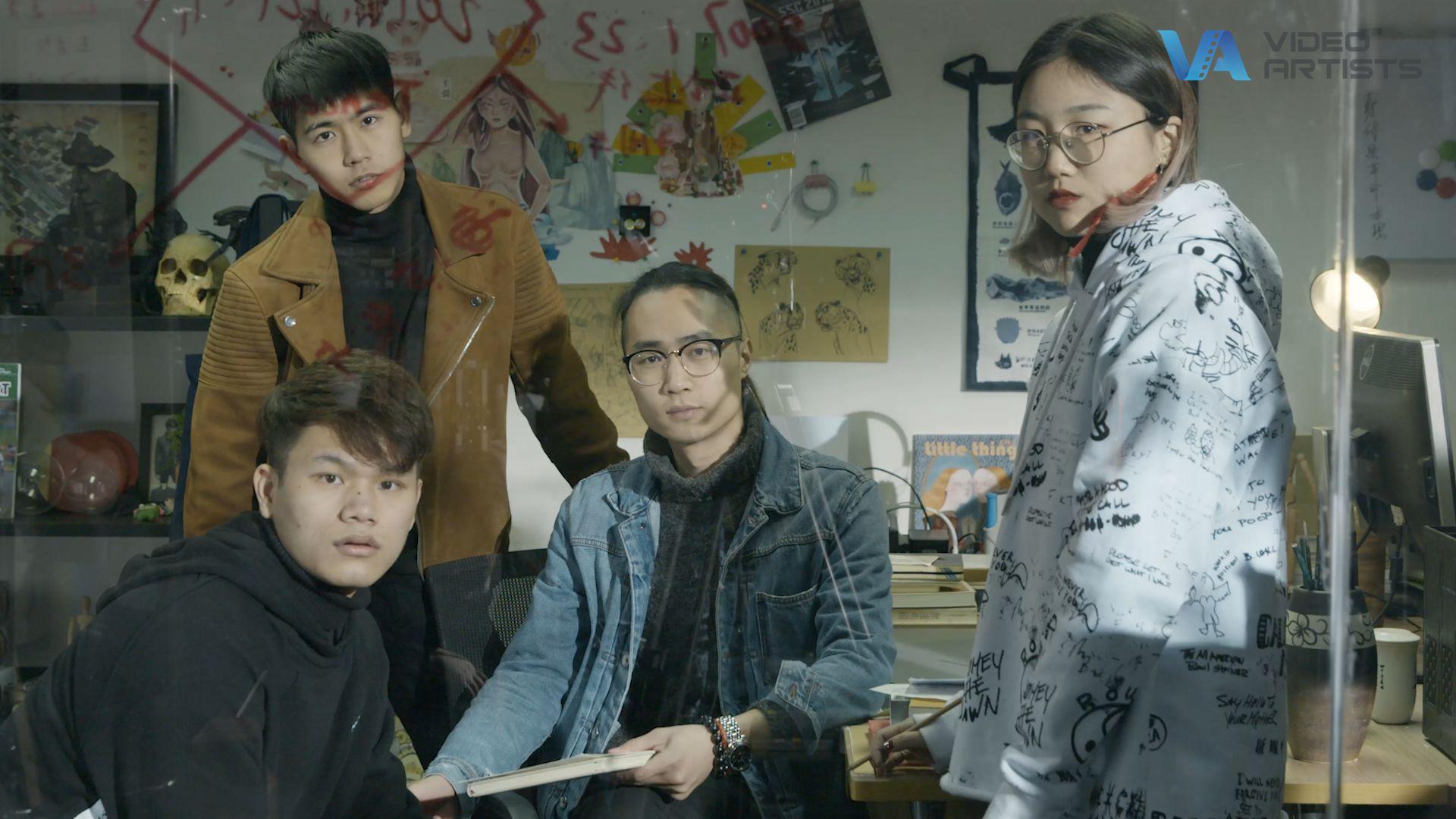 《QQ飞车》十周年折纸动画—花絮