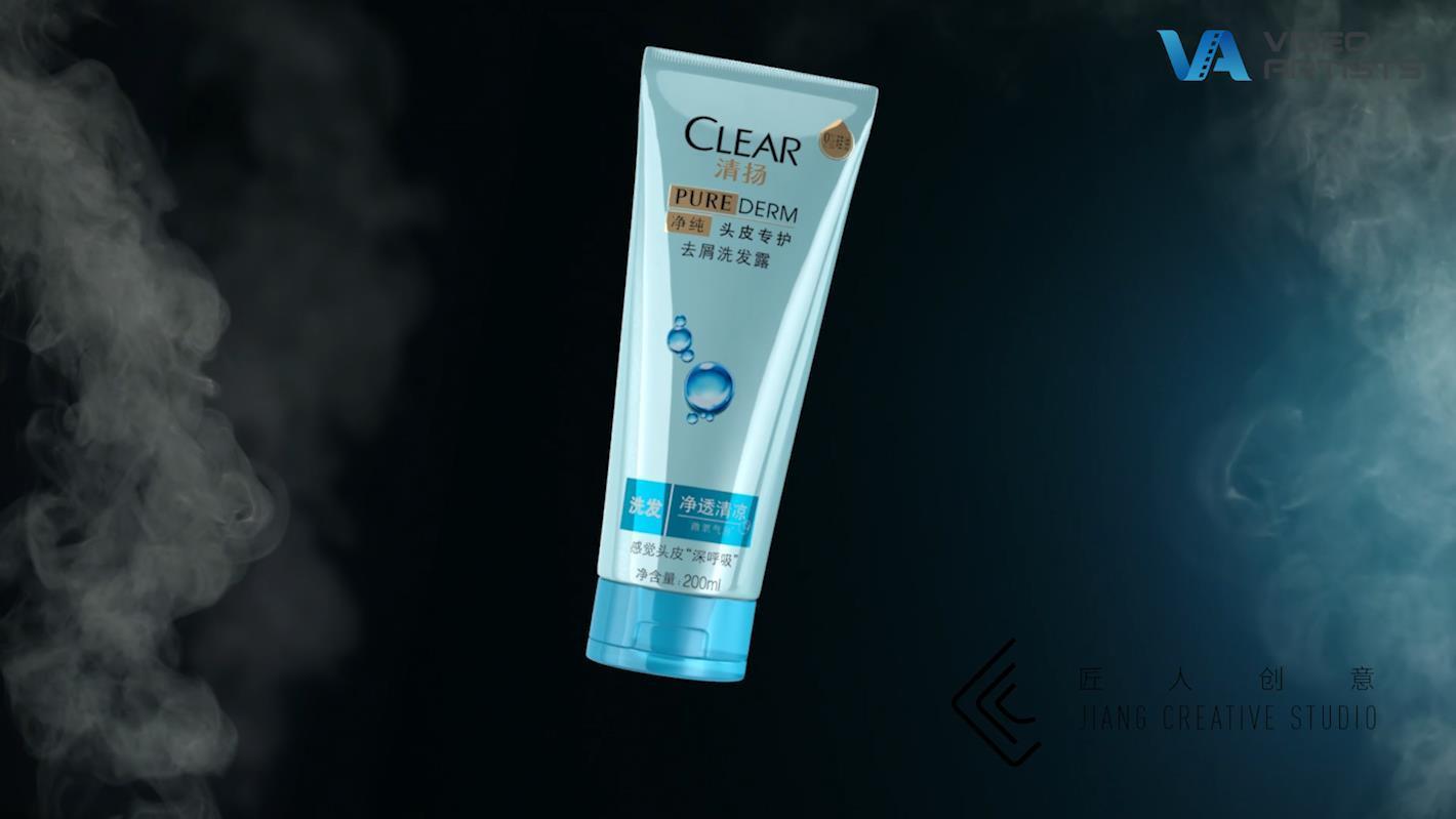 清扬0硅油添加去屑洗发水—毛孔更通畅